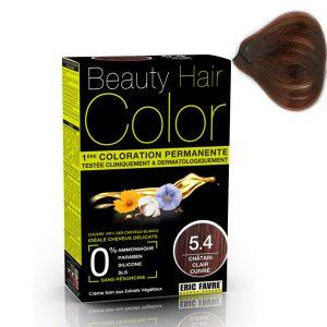 vopsea de păr 5.4 Șaten roșcat deschis